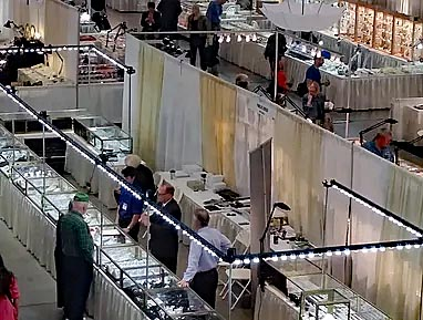 TGMS trade show lights by Show Off Lighting