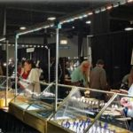 LED trade show lighting for the Tucson gem and mineral shows