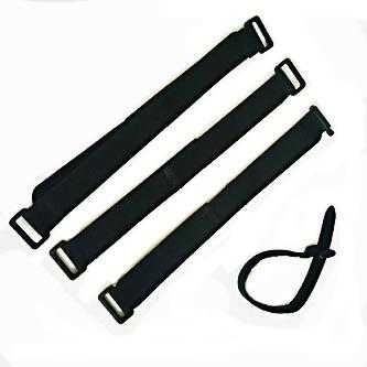 Velcro straps for trade show lighting