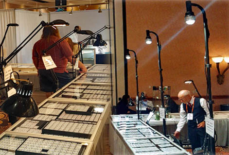 The best LED trade show booth lighting
