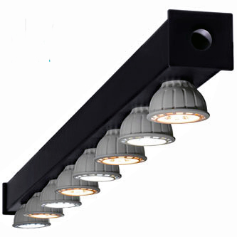 Interlocking 6ft Or 8ft Led Light Bars With Sun Balanced 8w Cob Bulbs