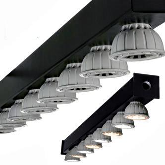 Bright sun balanced trade show lighting using our LED Light Bars
