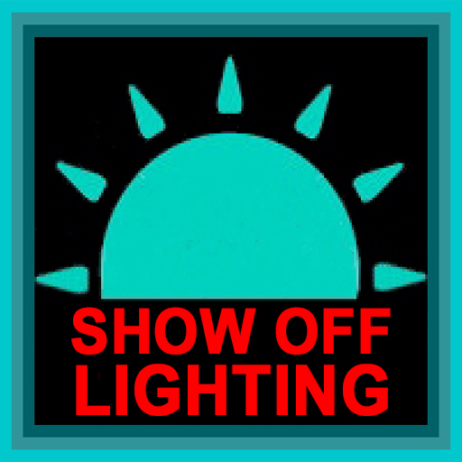 show off lighting, trade show lighting, led trade show lights