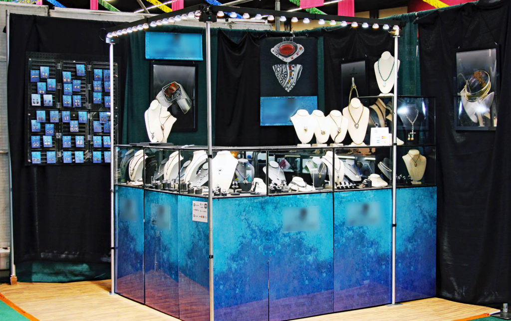 Fine jewelry LED display lighting