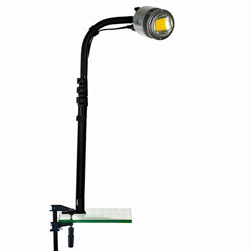 rotating head display lights, LED trade show lights, show off lighing