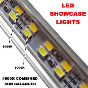 Beautiful Led Showcase Lighting