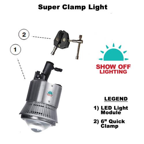 LED Pipe & Drape Lighting